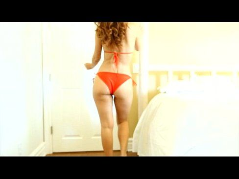 FantasyHD Sexy redhead's spa day turns erotic