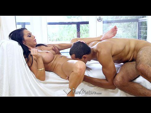 PureMature – Big tit milf Dayton Rains takes black cock