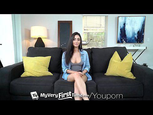 MyVeryFirstTime Latin Jasmine Vega first sex scene fuck