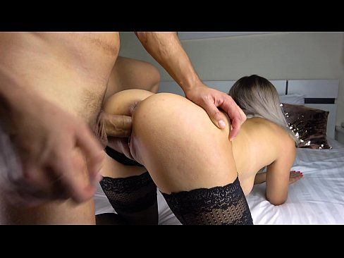 Teen Perfect Ass Blowjob and Cum on Legs