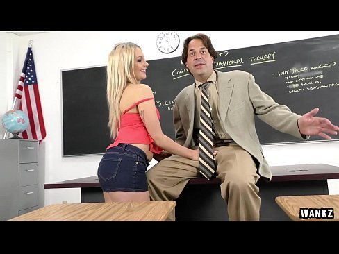 Luscious Blonde Teen Ally Must Fuck To Graduate HD