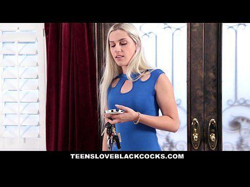 TeensLoveBlackCocks – Blonde Teen Fucks Black Cock For Revenge