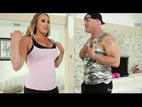 Samantha Saint Gets Fucked hard