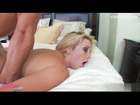 Horny girl striptease