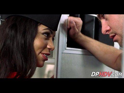Skinny latina flight attendant 4 1