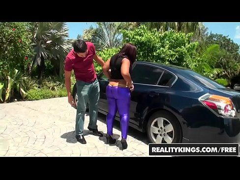 RealityKings – Round and Brown – Purple Shaker