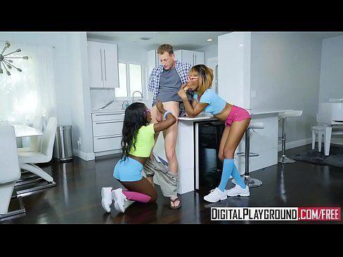 DigitalPlayground - Sharing My White Stepdad Azaelia Noemi Bilas Ryan McLane