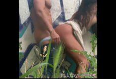 Young teen brazil couple having sex!
